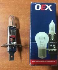 1x H1 Globe 12 Volts 130 Watts Standard P14.5s Globe Base 12v 130w OEX GLX16360