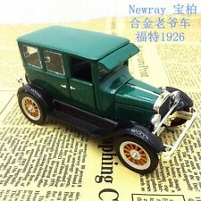 1926 Ford Fordor Classic NewRay 1:32 Scale Diecast Metal Model Car Collection