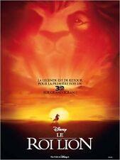 Affiche 40x60cm LE ROI LION (THE LION KING) 3D - Walt Disney R2012 NEUVE