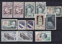 france 1962 -3 mint never hinged  and used stamps  ref r14275
