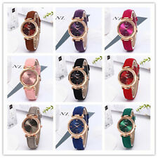 Women Fashion Simple Watch Diamond Leather Belt Ladies Analog Quartz Wristwatch