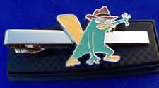 Perry The Platypus Tie Clip Phineas and Ferb Tie Bar Kids TV Show Tie Clasp