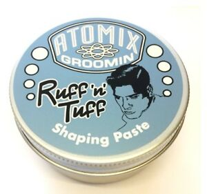 Atomix Groomin Ruff n Tuff Mens Grooming Products Clay Paste Wax Gel Pomade