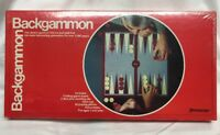 Vintage 1977 Pressman Backgammon Board Game NEW and SEALED