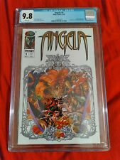 Angela 1 CGC 9.8  Rare only a few issues on census as opposed to 2000 Spawn 9's
