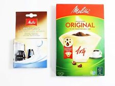 Melitta 1 x 4 Coffee Filters with 4 x 12g Descaling Tablets  MEL6545475  80086