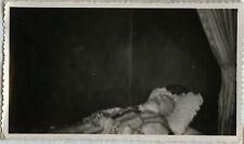 PHOTO ANCIENNE - VINTAGE SNAPSHOT - HOMME MORT POST MORTEM DÉFUNT - MAN DEAD 2