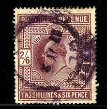 Great Britain #139 (Gb709) King Edward Vii 2 shilling 6 pence, Lilac,U,Cv$150.00