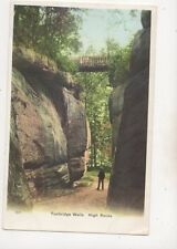 Tunbridge Wells High Rocks Kent Vintage Postcard 638b