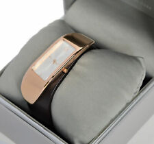 Calvin Klein Ladies 'Embody' Rose Gold Plated Watch - Leather Strap - K3C236G6