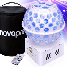 More details for gobosphere mirrorball style lighting effect rgbw led star ball & gobo beam fx