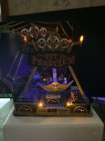 Lemax spooky Eyes pit & pendulum Carnival Ride Witch Mummy Frankenstein Animated