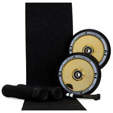 Root Industries 120mm AIR Gold Rush Scooter Wheels + Tilt Black Grips + Tape