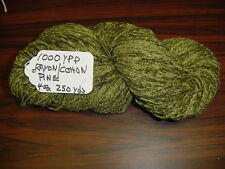 Rayon/ Cotton Blend Chenille Yarn 1000 Ypp 1 Skein, 4 oz.250 Yards Color Pine.