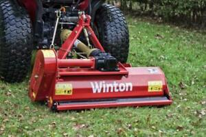 Winton 1.05 Flail Mower Suit Compact Tractors all Other sizes available. INC VAT