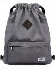 KAUKKO drawstring bags made of Nylon Bag Sport Gym School Backpack Hiking Travel