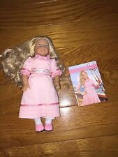 "6"" Mini American Girl Doll Caroline With Book"