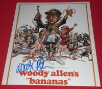 WOODY ALLEN SIGNED BANANAS CLASSIC 8X10 POSTER PHOTO AUTOGRAPH COA ANNIE HALL