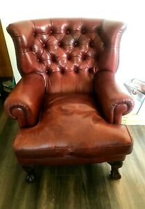 Stunning Tetrad Blake Chesterfield Leather Arm chair - Delivery Available 🚚 🚚
