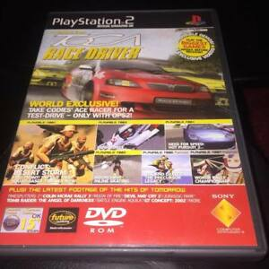playstation 2 official magazine demo disc 24 toca race driver jak and daxter