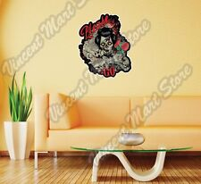 "Please Go Dead Woman Zombie Scary Death Wall Sticker Room Interior Decor 22"""