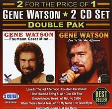 Gene Watson - Double Pak [New CD]