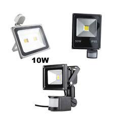 LED Flood Light 10W/50W/100W PIR Motion Sensor Landscape Square Spot Modern Yard