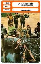 FICHE CINEMA : LA FLECHE BRISEE - Stewart,Paget,Daves 1950 Broken Arrow