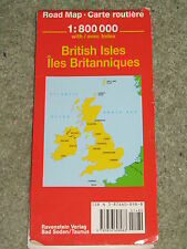 German produced road map of British Isles - Ravenstein