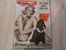 September 1954, PICTUREGOER, Janet Leigh, Doris Day, Marilyn Monroe, Tony Curtis