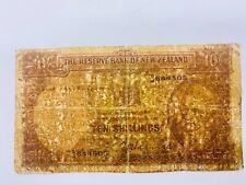 New Zealand - 10 shillings (1940-55) Oceania