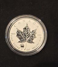 2012 1oz Canada Maple Leaf (Titanic Privy) .999 Fine Silver Coin