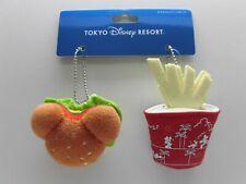 Tokyo Disney Resort Plush Badge Mickey mouse Hamburger French Fries 2019