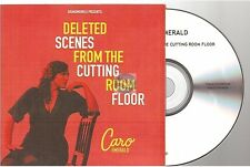 CARO EMERALD deleted scenes from the cutting. CD ALBUM PROMO card sleeve french