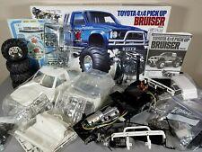 "Tamiya Toyota Bruiser 1/10 R/C 4WD Truck KIT Re-Release 58519 ""Partial Built"""