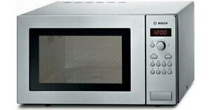 BOSCH HMT84M451B Solo Microwave Stainless Steel -2 YEARS PARTS & LABOUR WARRANTY