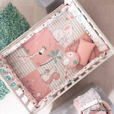 Elephant Giraffe Baby Girl Crib Set Bedding Comforter Baby Shower Gift Nursery
