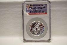 2010P 1 oz Australian High Relief Proof Silver Kangaroo PR70 U/C NGC