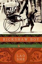 Rickshaw Boy: A Novel: By She Lao