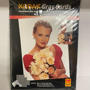 Kodak Gray Cards 2 Proper Exposure Photography Videography & Digital Imaging