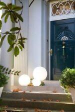 Lampe Shining Globe 30 cm weiß Design by 8seasons für Innen & Außen NEU