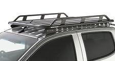 Rhino Roof Rack HOLDEN Colorado 4 Door Ute 06/12+ Backbone Pioneer Tradie JA9027