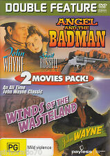 JOHN WAYNE Angel And The Badman / Winds Of The Wasteland DVD All Zone - New