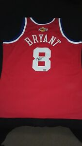 Kobe Bryant Panini Authentic Autograph Jersey Mitchell and Ness 2003 All Star...