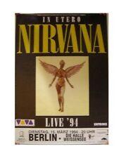 Nirvana Poster In Utero Muscle Angel '94 Concert
