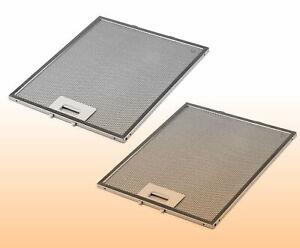 2x Metallfettfilter Filter Dunstabzugshaube für AEG Juno 405525042 4055250429#02