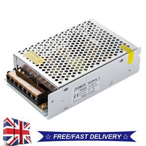 AC 110-240V to DC 12V 10A 120W Volt Transformer Switch Power Supply Converter UK