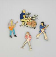 Original Rolling Stones Little League Pin Set 90mm high each
