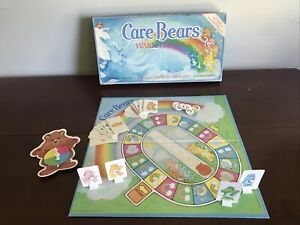 Vintage 1984 Care Bears Warm Feelings Board Game Parker Brothers 100% Complete