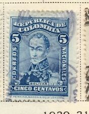 Colombia 1917 Early Issue Fine Used 5c. 172786